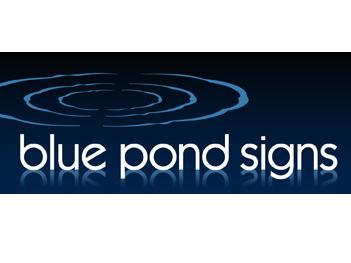 BLUE POND SIGNS